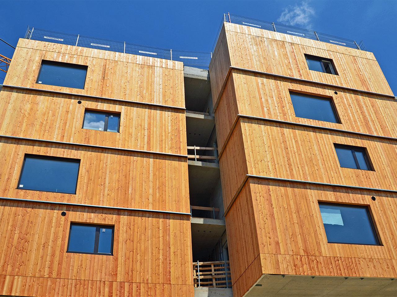 L'État veut promouvoir l'usage du bois dans les bâtiments