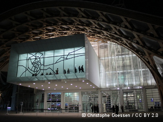 Le Centre Pompidou-Metz étendard de la rénovation du quartier