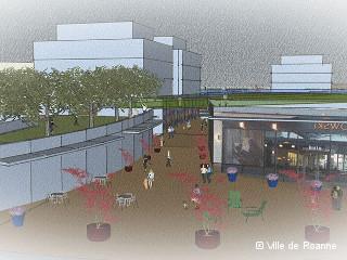 Roanne : un nouveau centre commercial pour dynamiser le centre-ville