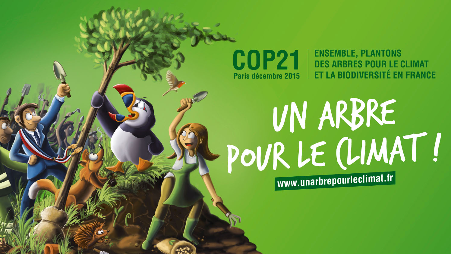 Un arbre pour chaque Parisien
