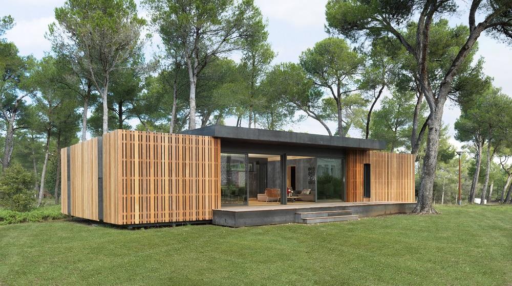 Une maison écologique en kit