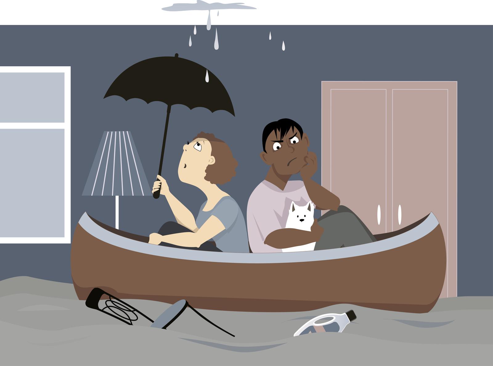 Comment éviter ou réparer un dégât des eaux