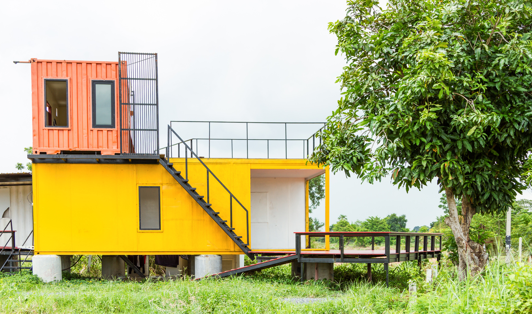 Logement container un concept en vogue cr dit agricole e immobilier - Container haus architekt ...