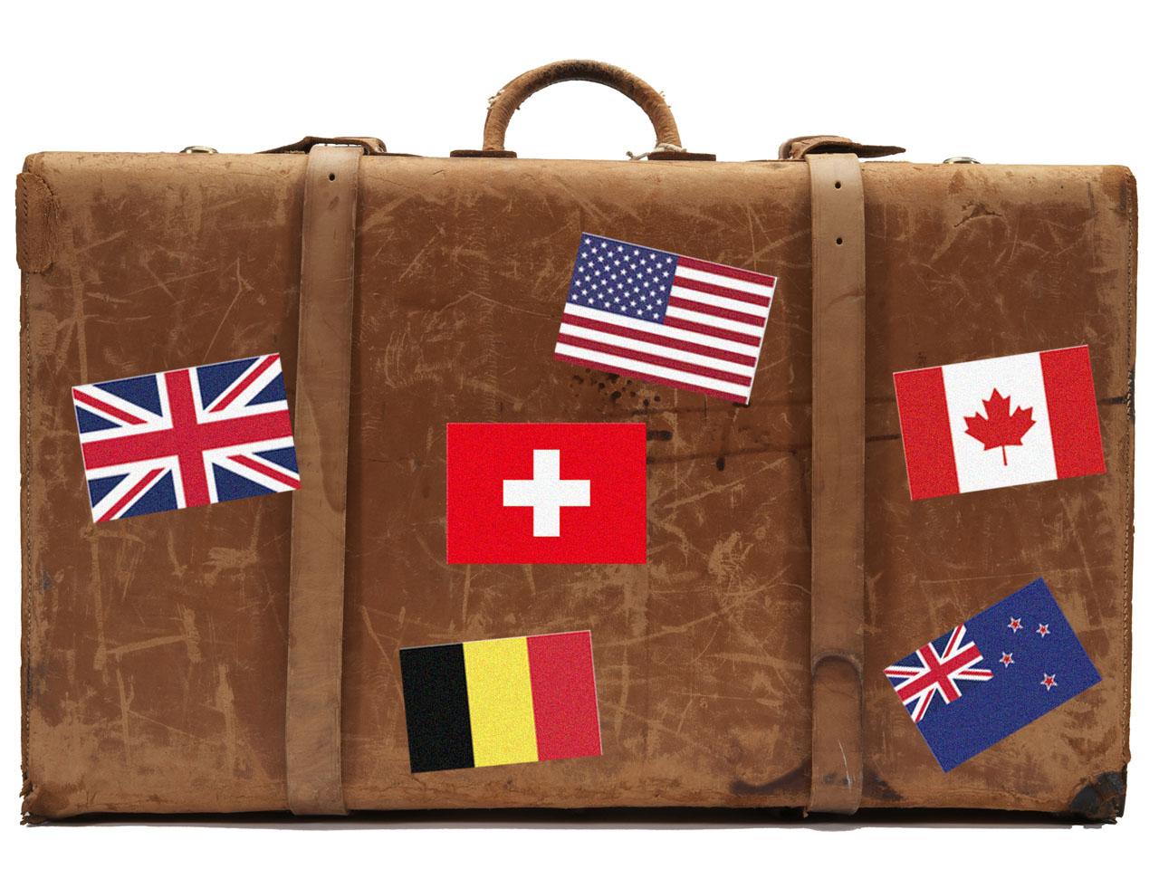 Les pays préférés des expatriés français