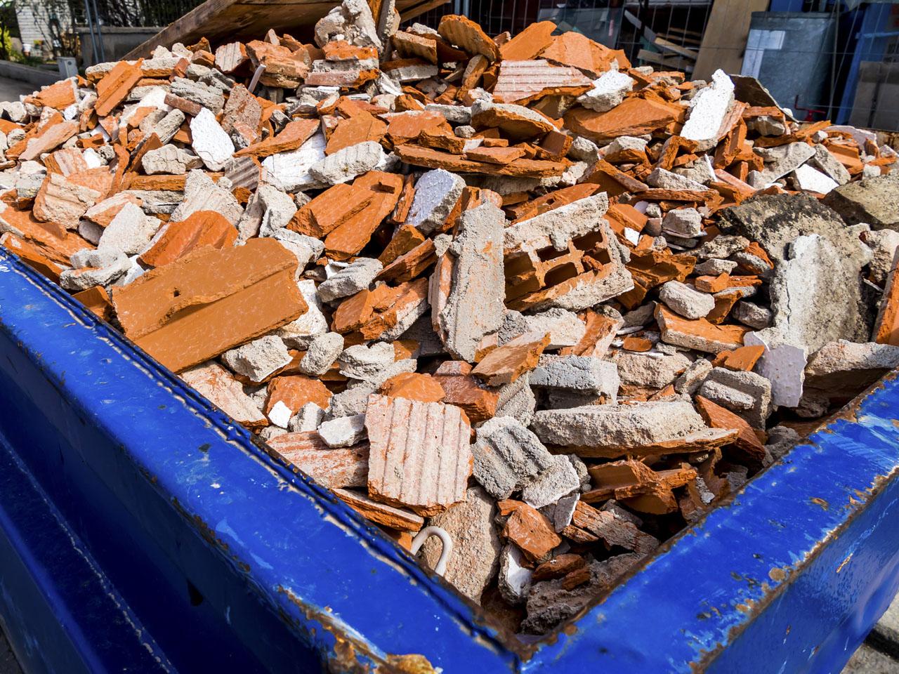 Que faire des déchets de ses travaux?