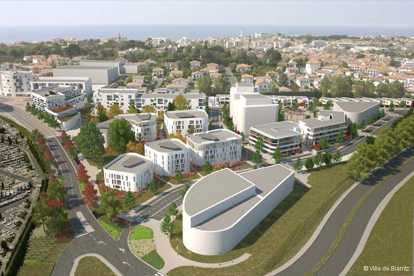 Kléber : un nouveau quartier novateur à Biarritz