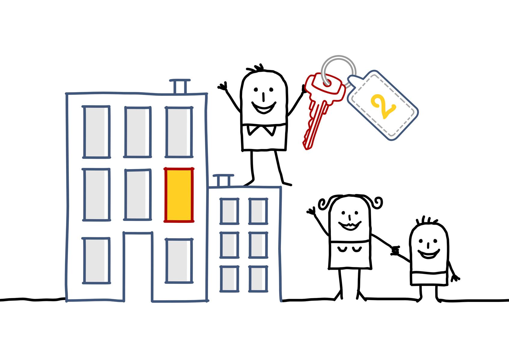 Nouveaux plafonds de ressources pour le logement social