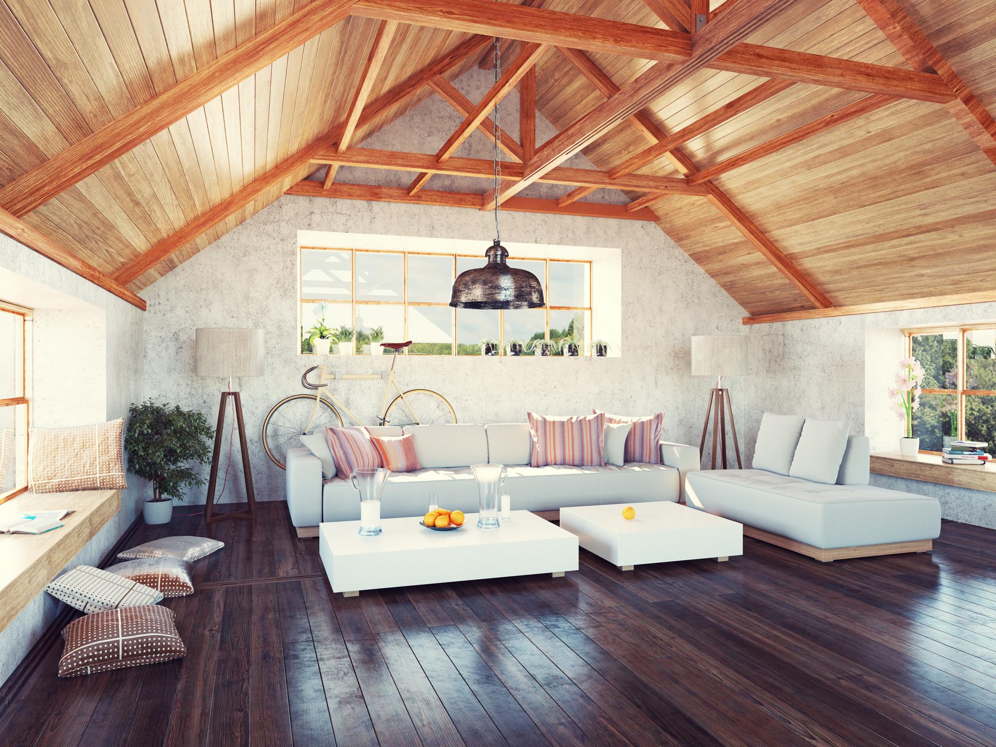 Les surfaces aménageables d'un bien immobilier