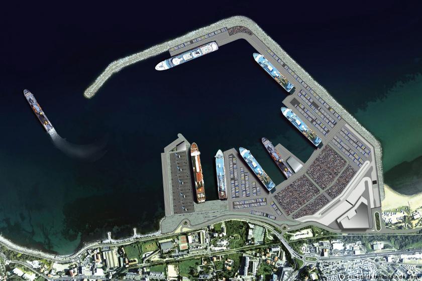 A Bastia, le projet de grand port de la Carbonite se précise
