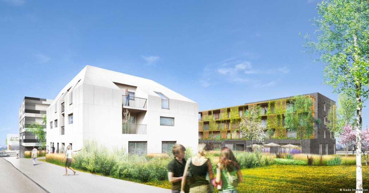 A Metz l'écoquartier des Coteaux de la Seille sort de terre
