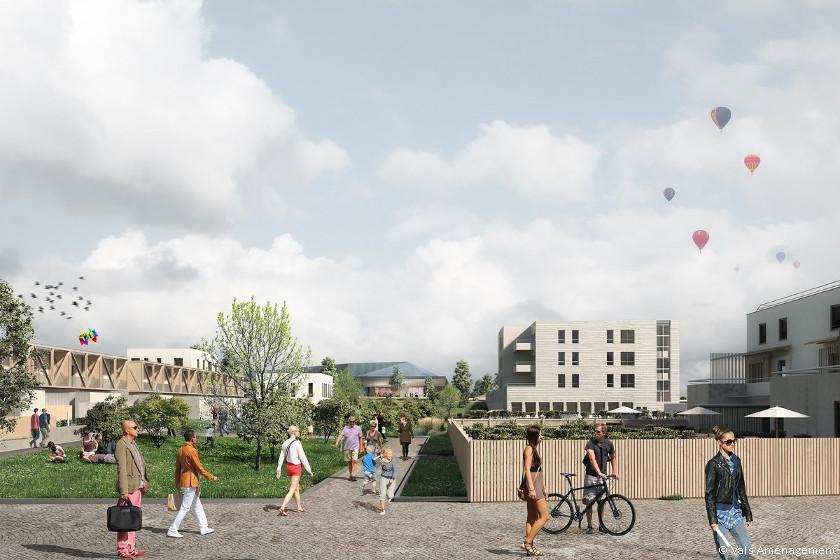 Avec l'écoquartier Laplace, Blois soigne sa dynamique