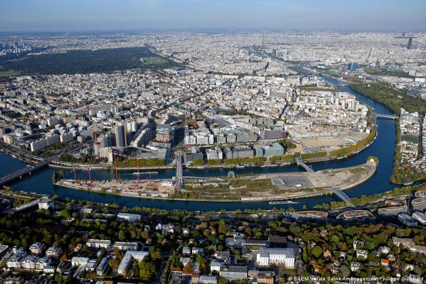 Boulogne-Billancourt : après Renault, la réhabilitation de l'île Seguin