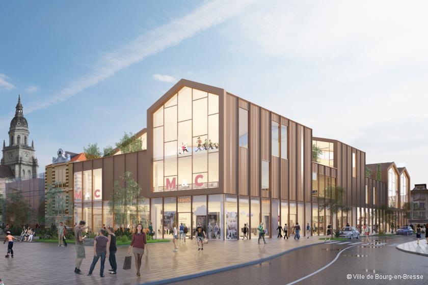 Bourg-en-Bresse : Carré Amiot redessine le centre-ville