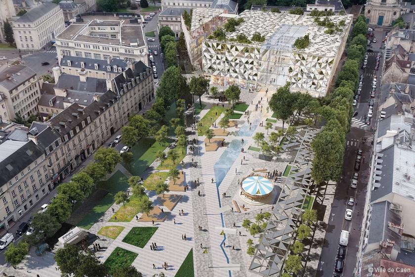 Caen : le projet République remodèle le centre-ville