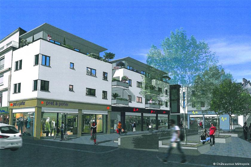Cœur d'agglo : le lifting du centre-ville de Châteauroux