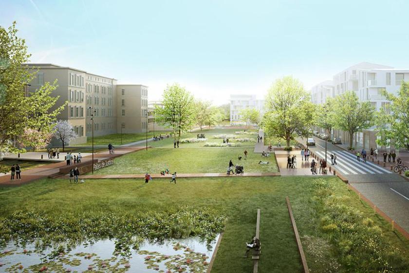 Eco-quartier Thurot : toute la qualité de vie d'Haguenau