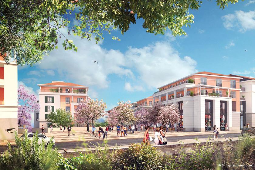 Font-Pré, le premier écoquartier de Toulon