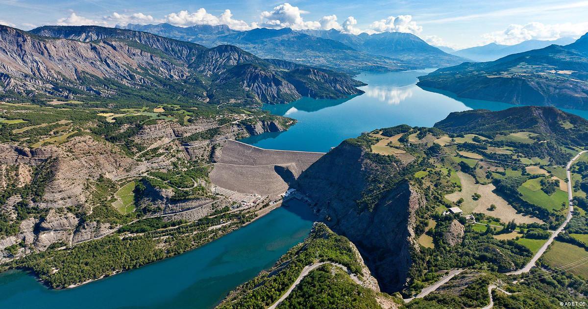 hautes-alpes-carte - Photo