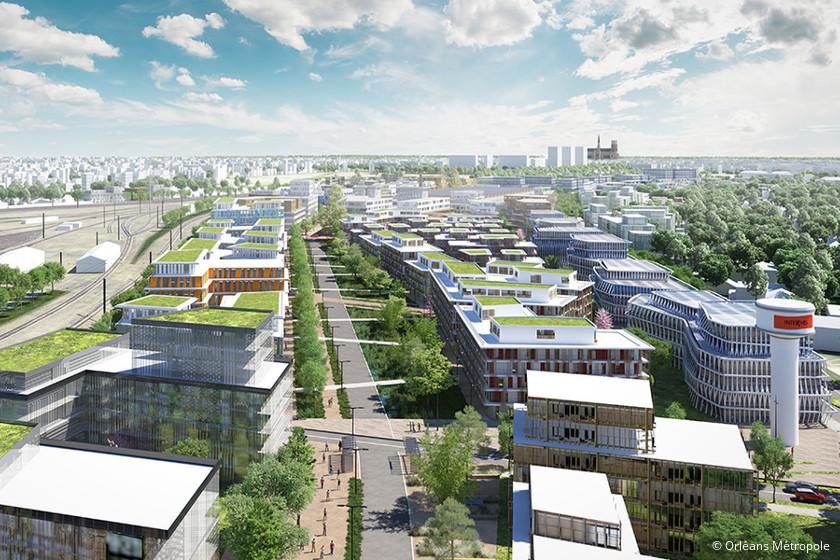 Interives, le projet qui transforme le nord d'Orléans