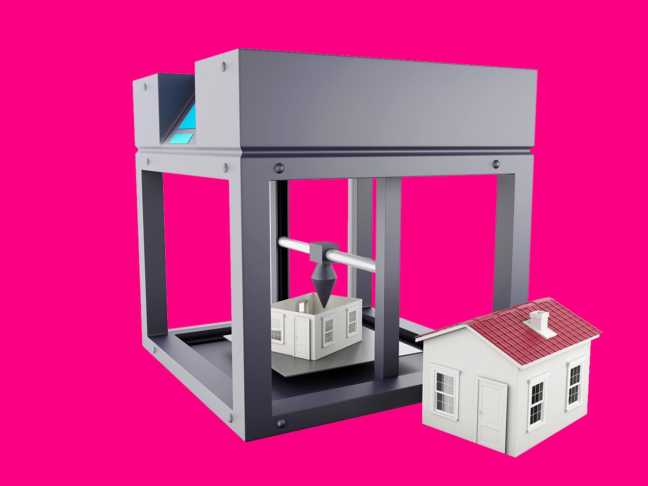 L'impression 3D au service du logement social français