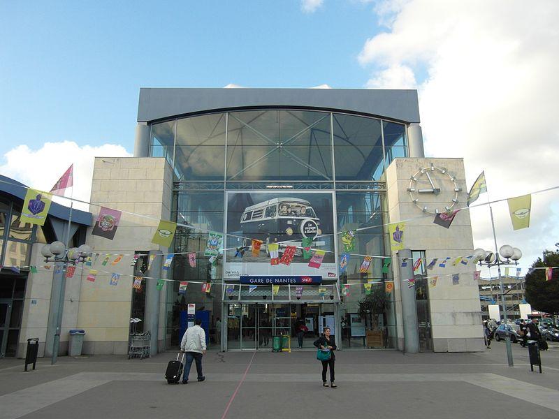 La transformation de la gare de Nantes