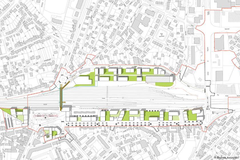 Laval : la LGV transforme le quartier de la gare