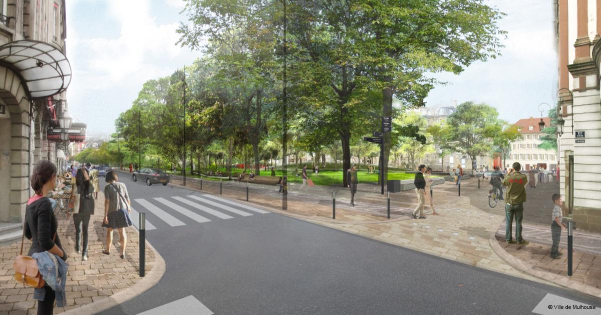Le projet Mulhouse Grand Centre transforme la ville