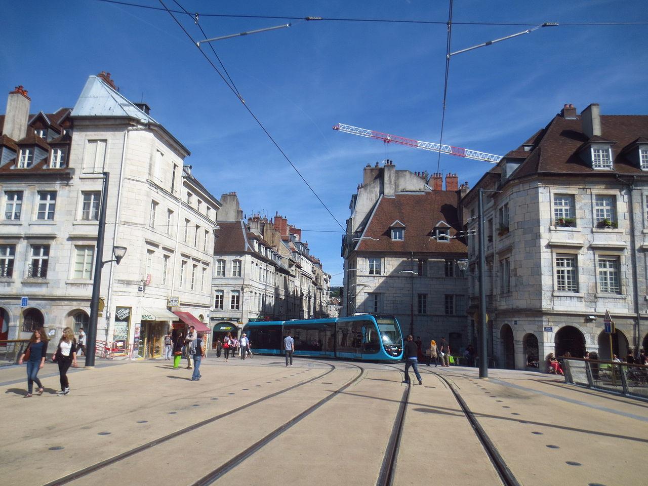 Le tramway de Besançon parti sur de bons rails