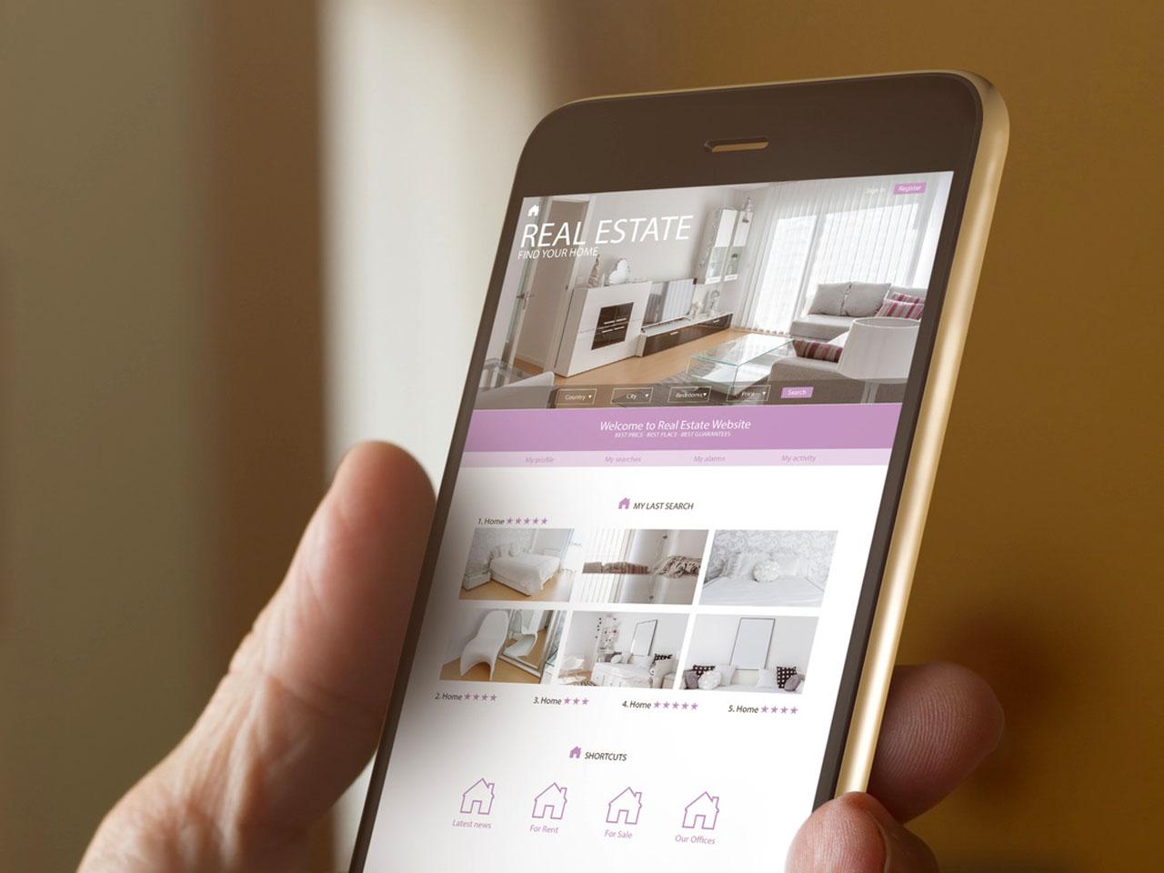 Les applications mobiles au service de l'immobilier