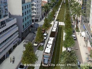Nice se dote d'une ligne de tramway Ouest-Est