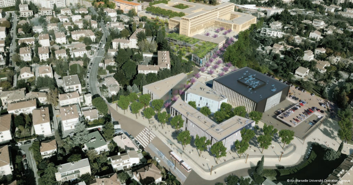 Nouveau campus et nouveau visage pour Aix-en-Provence