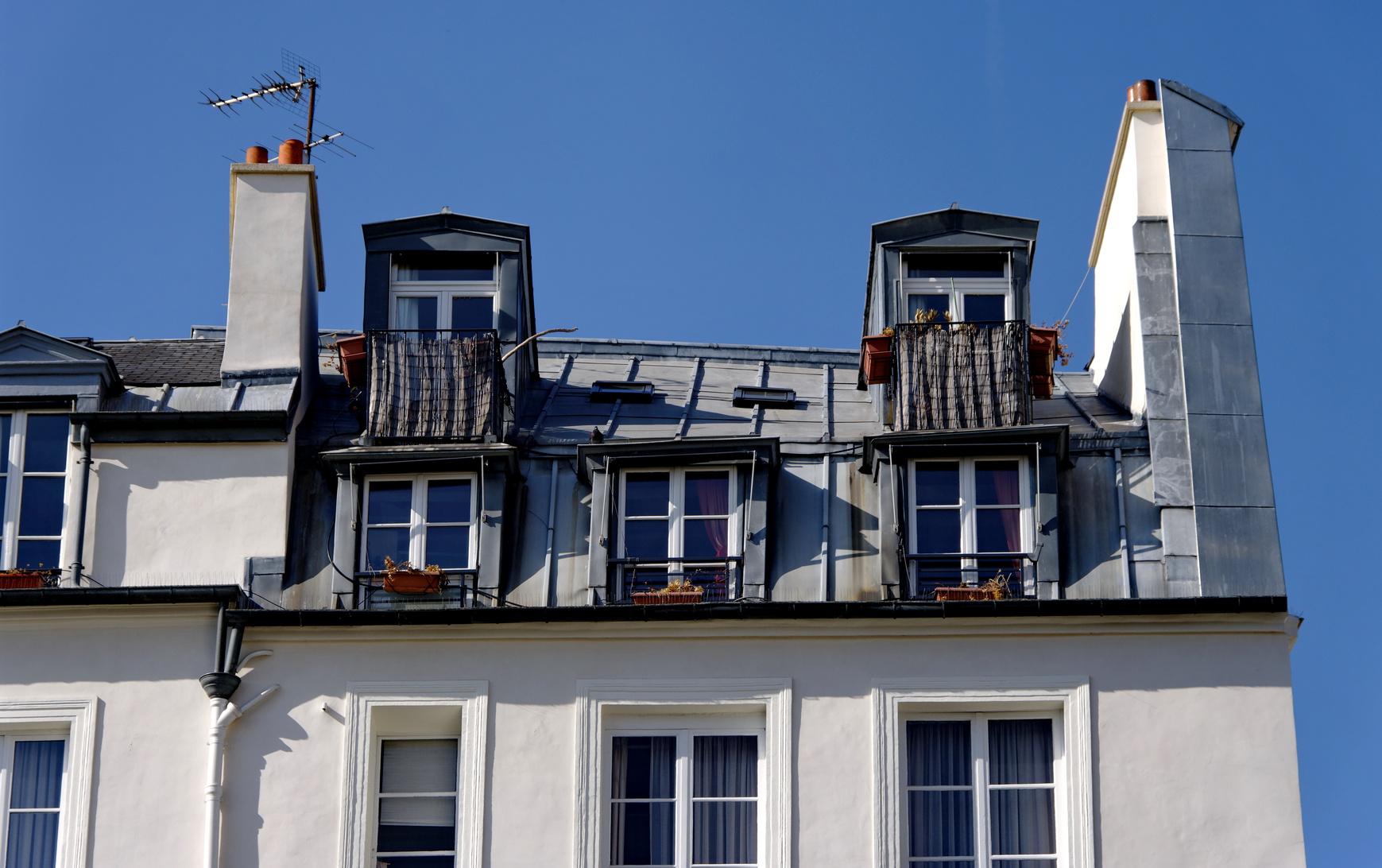 Paris chambre de bonne