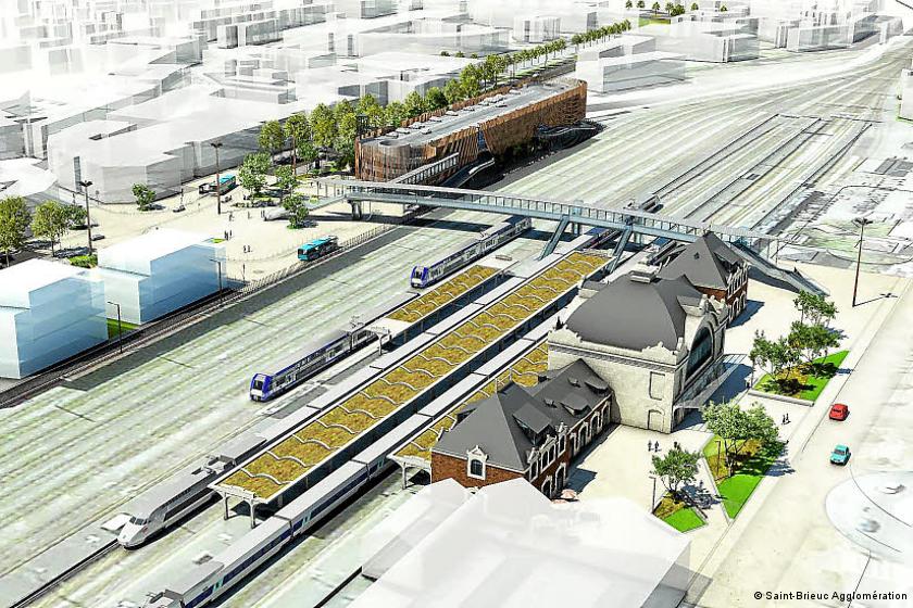 Transports : Saint-Brieuc passe la vitesse supérieure