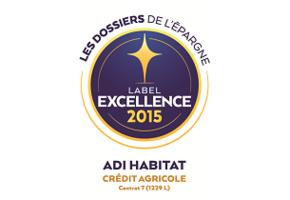 L'assurance emprunteur du Crédit Agricole reçoit le Label d'Excellence 2015 !
