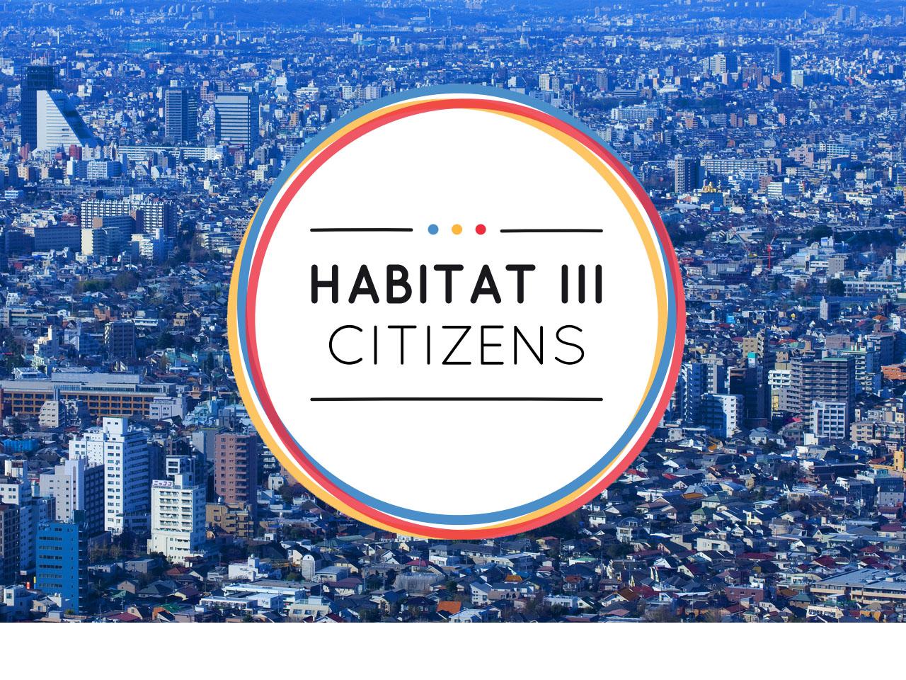 Troisième conférence Habitat des Nations Unies