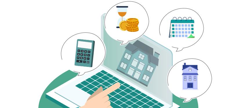 Mensualités d'un crédit immobilier