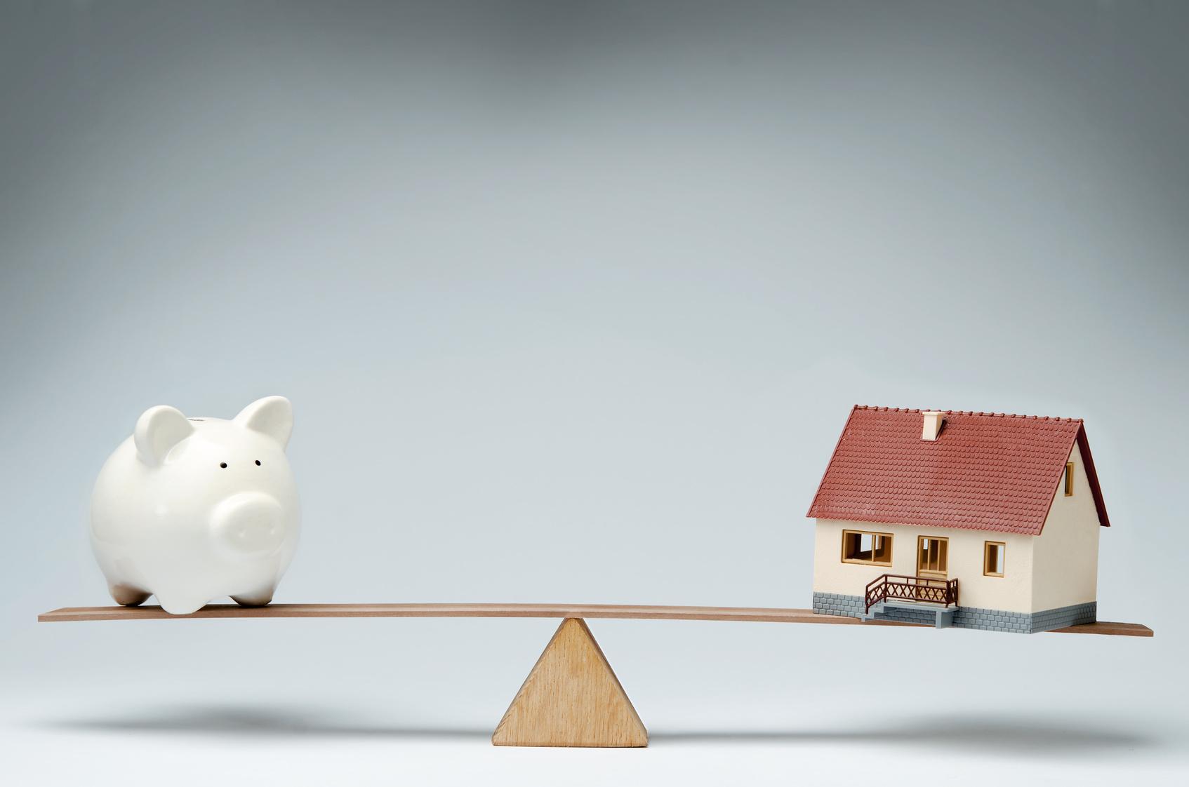 Légère augmentation des taux des crédits immobiliers