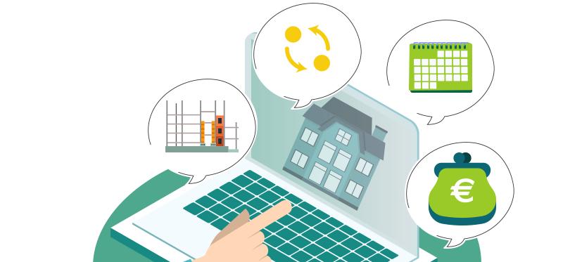 Infographie immobilier : intérêts intercalaires