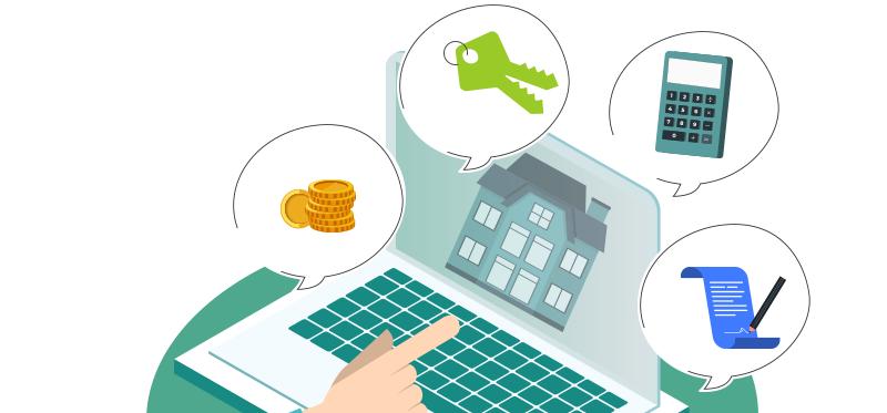 Infographie immobilier : déclarer ses revenus locatifs