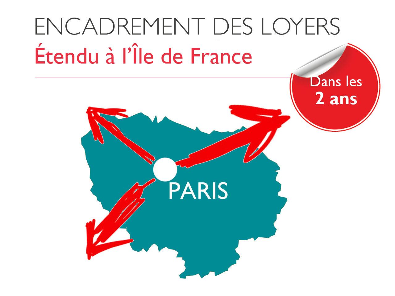 L'encadrement des loyers élargi à l'Île-de-France