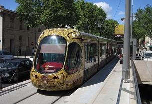 Montpellier fou de ses tramways !