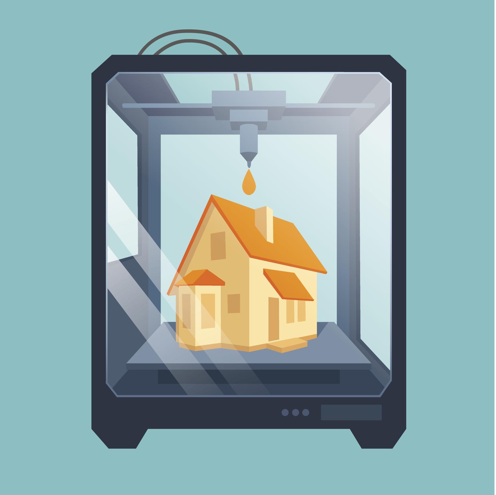 Une maison « imprimée » en 24 heures