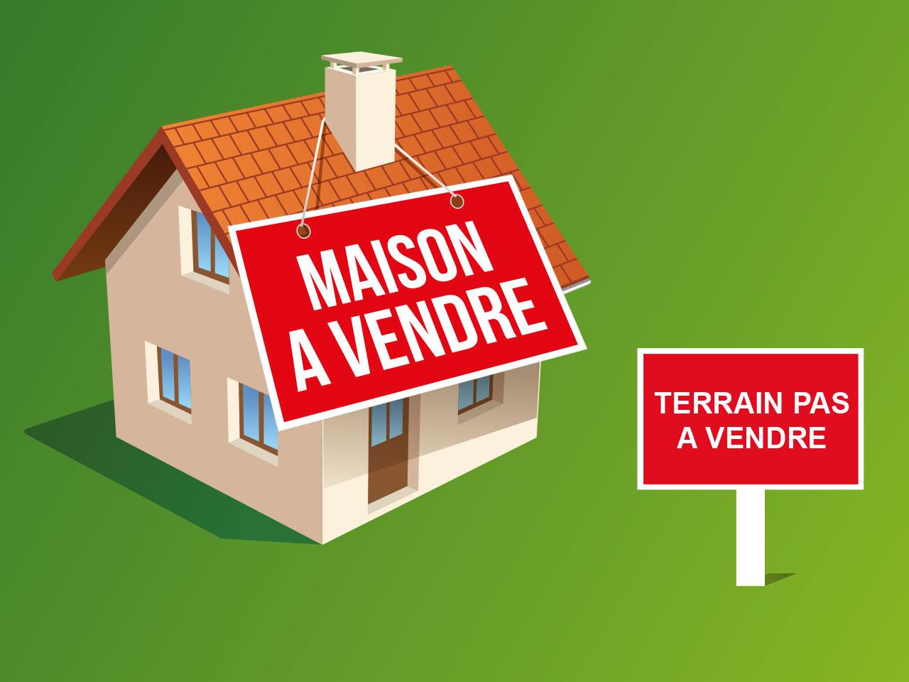 Acheter un bien immobilier sans le terrain