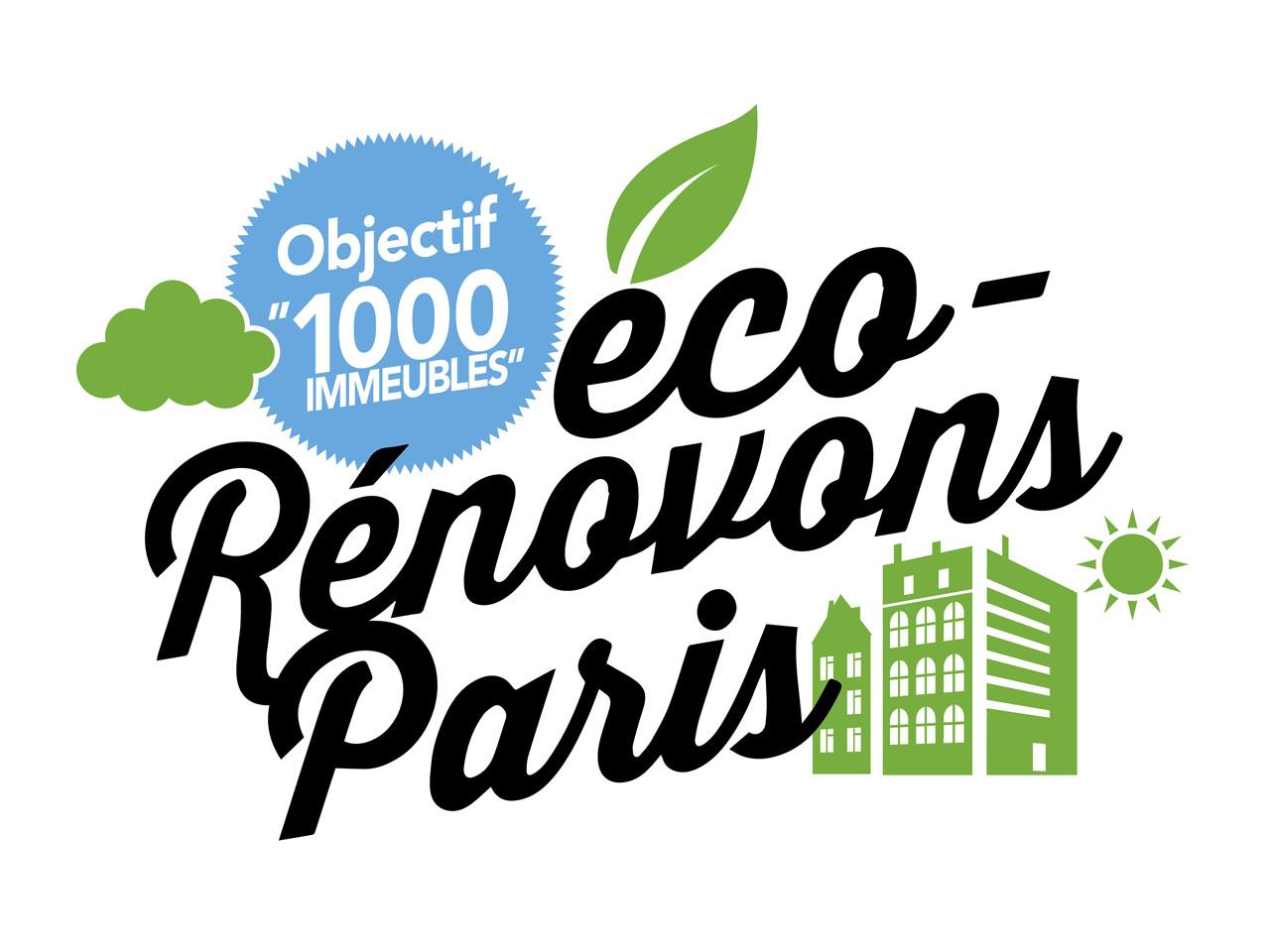 Rénovation énergétique de 1000 immeubles à Paris