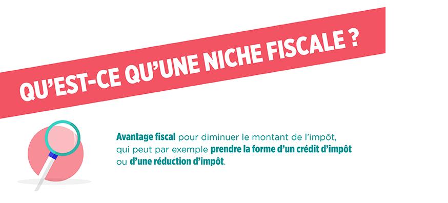 La définition d'une niche fiscale